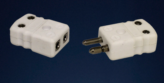 Standard Alumina Ceramic Thermocouple Connectors